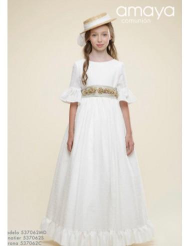 Vestido comunión niña por encargo