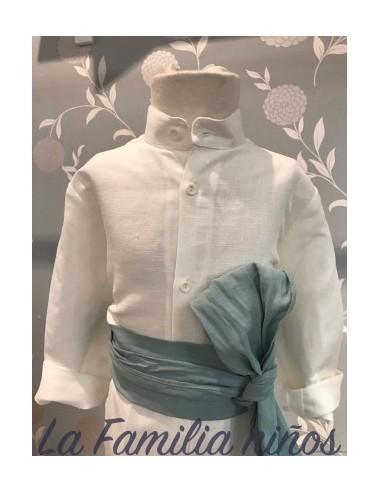 camisa ceremonia mao